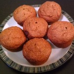 Whole-Grain Pumpkin Chocolate Chip Muffins